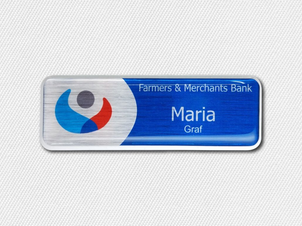 Banking on Name Badges