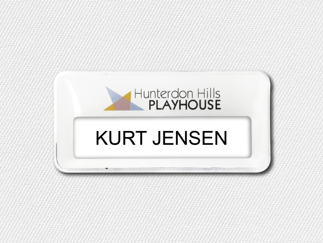 Branding With Movie Theater Name Badges