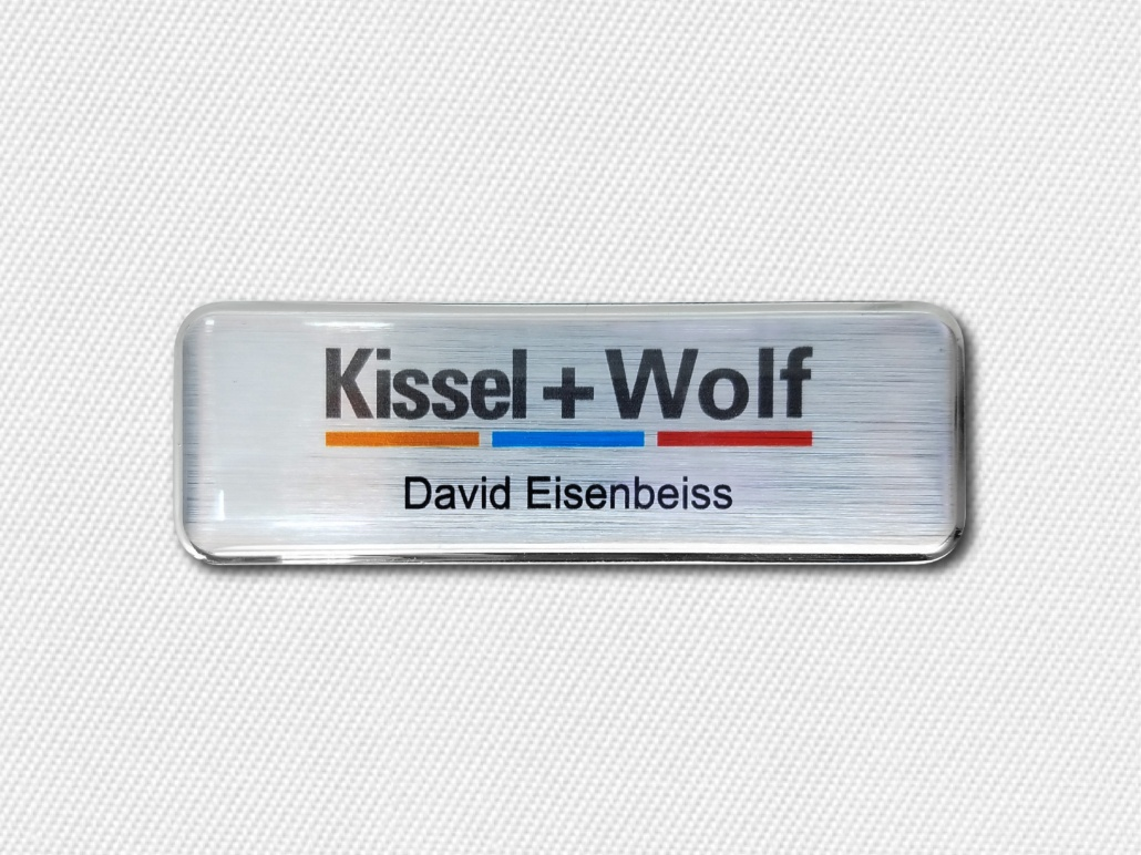 Building Business Identity with Corporate Name Badges