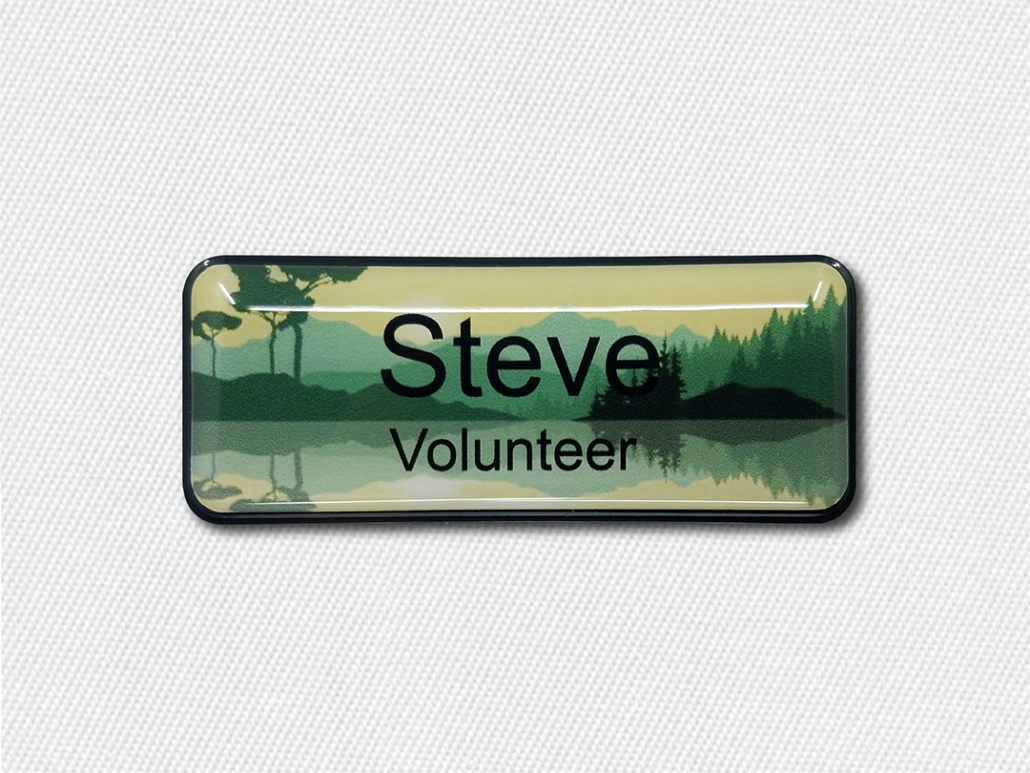 Campground Name Badges