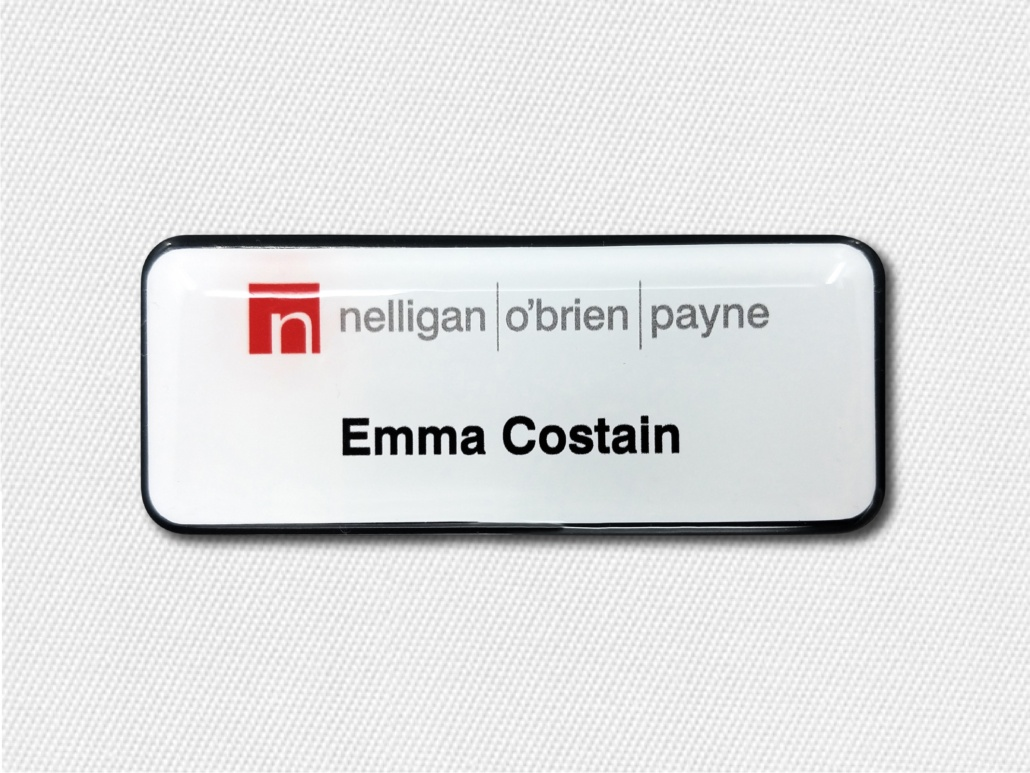 Custom Prestige Plastic Name Tags A Cost Effective Solution