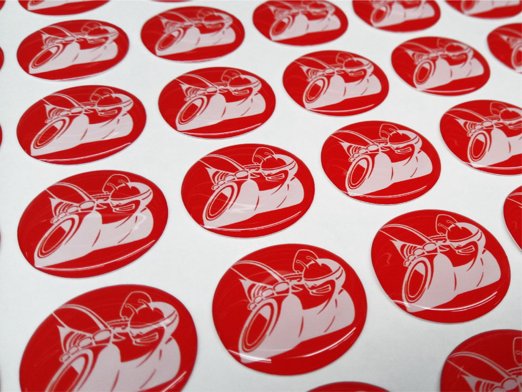 Custom Stickers for Adult Sports Leagues