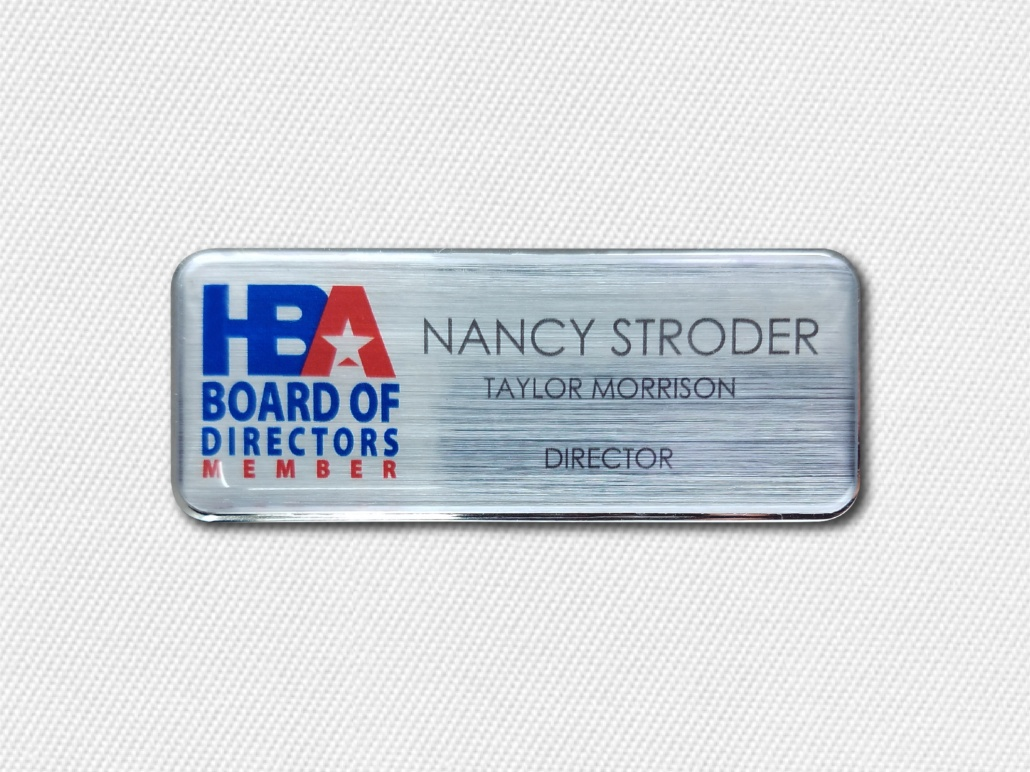 Executive Name Badges A Professional Way To Introduce Yourself