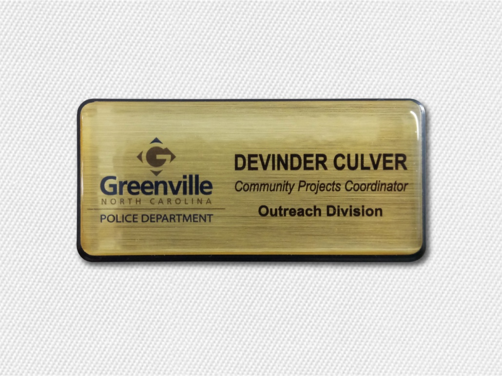 Increase Brand Visibility With Company Name Badges