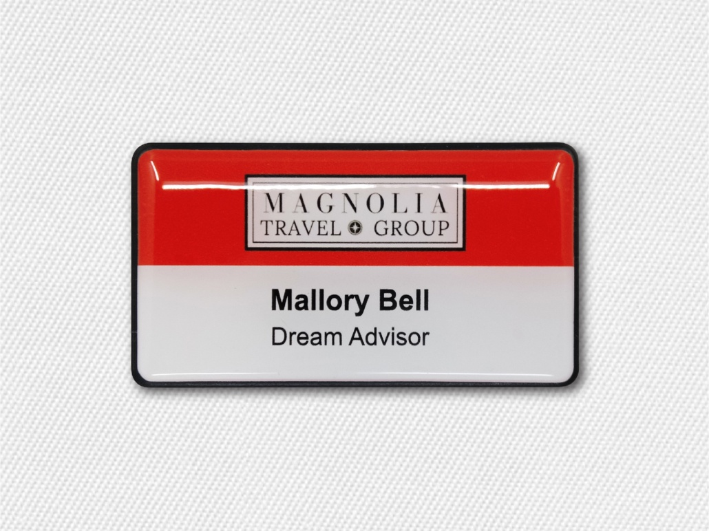 Large Name Badges for Trade Shows and Conferences