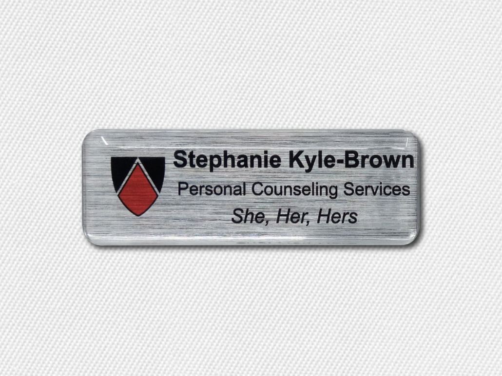 Name Badges For Funeral Directors