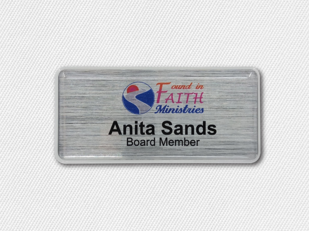 Name Badges For Non-Profit Organizations