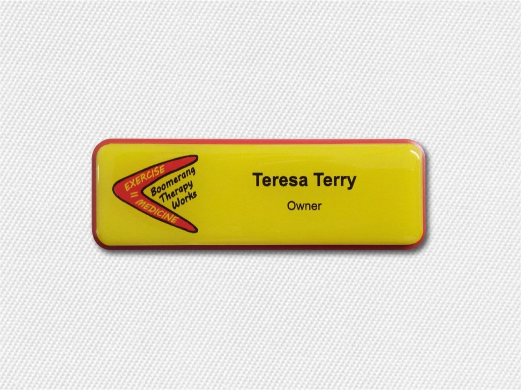 Why We Use Prestige Plastic Name Badges